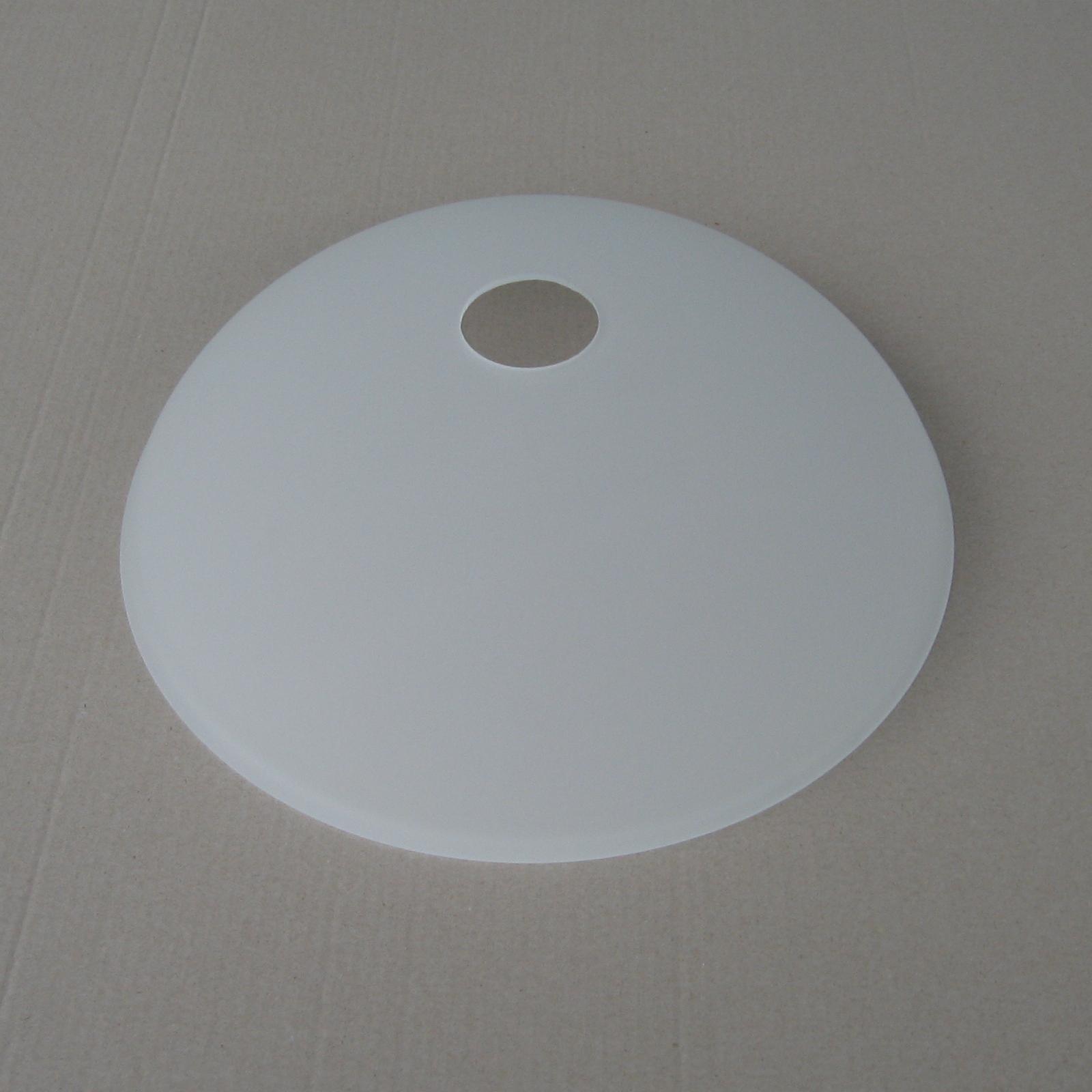 Klosz E27 Miska Szkło Białedo Lampy Podłogowejsufitowej