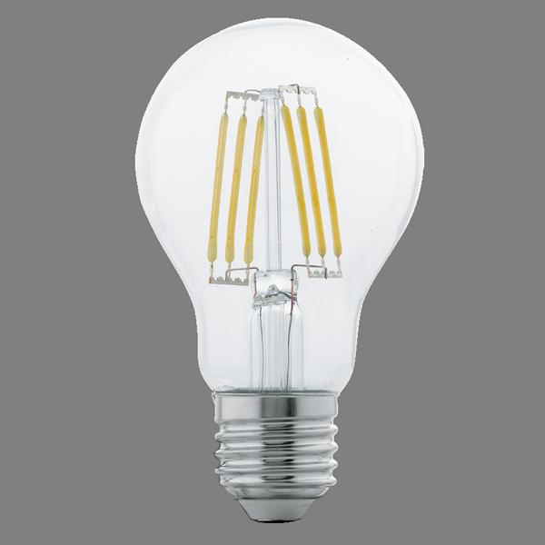 Żarówka LED E27 6W Kula Przezroczysta