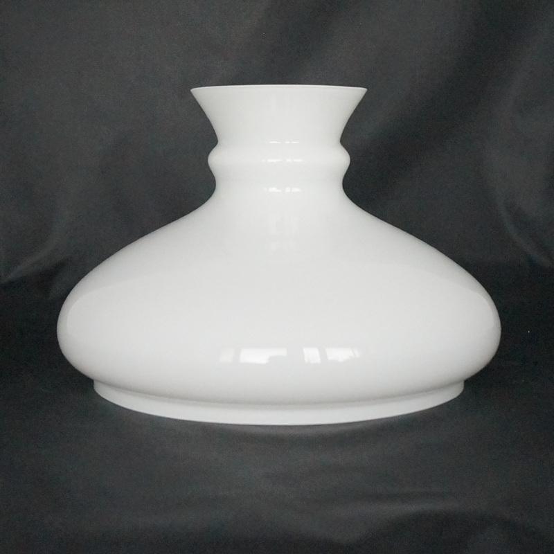 klosz do lampy naftowej biały 18 cm