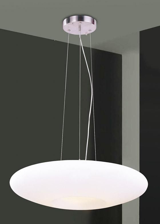 Ufo Italux Lampa Sufitowa Wiszącanowoczesna Biała